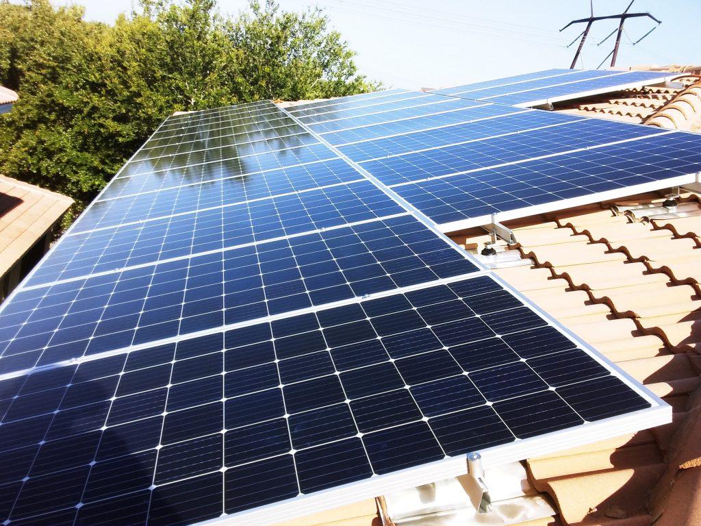 Solar Installation done by Coronado